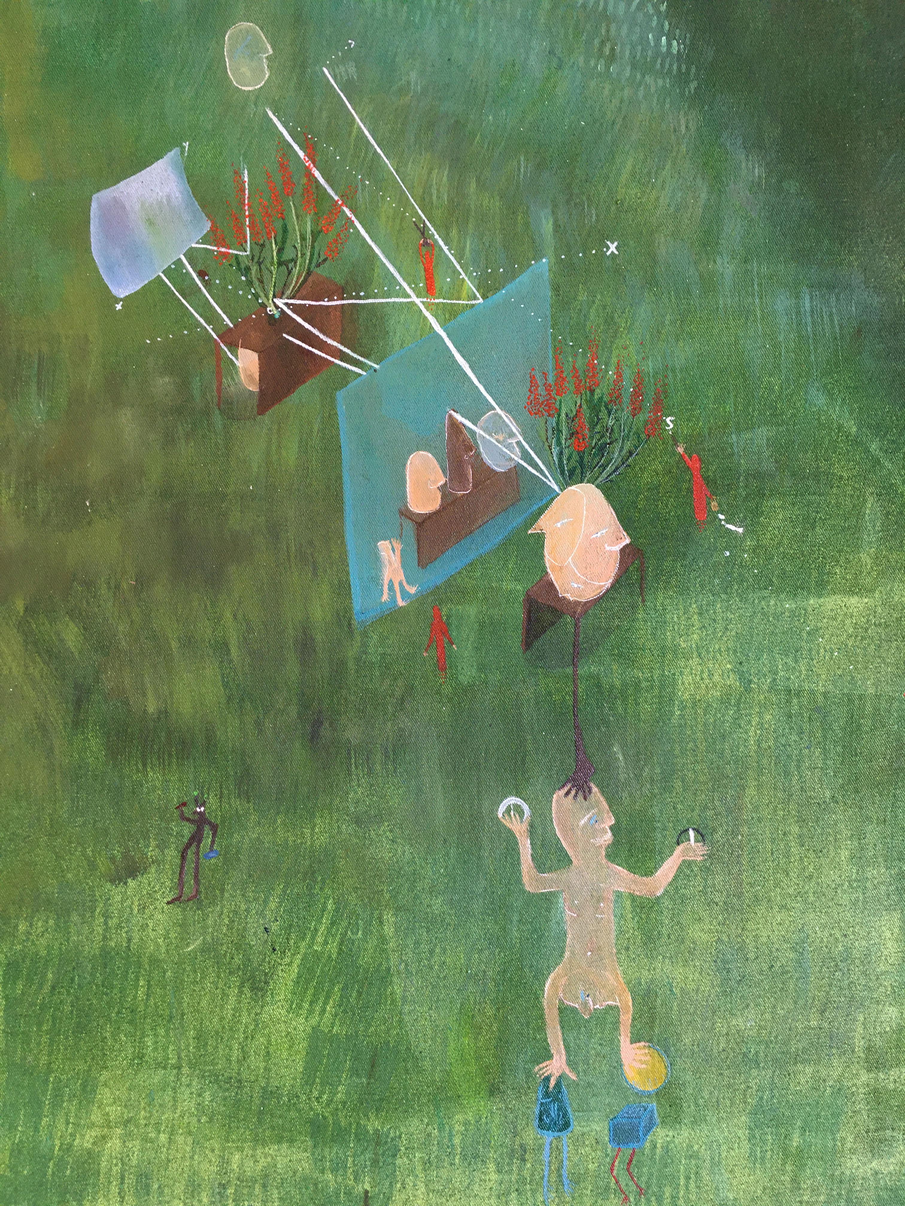 Julia Magdalene Rómas Paintings 2019