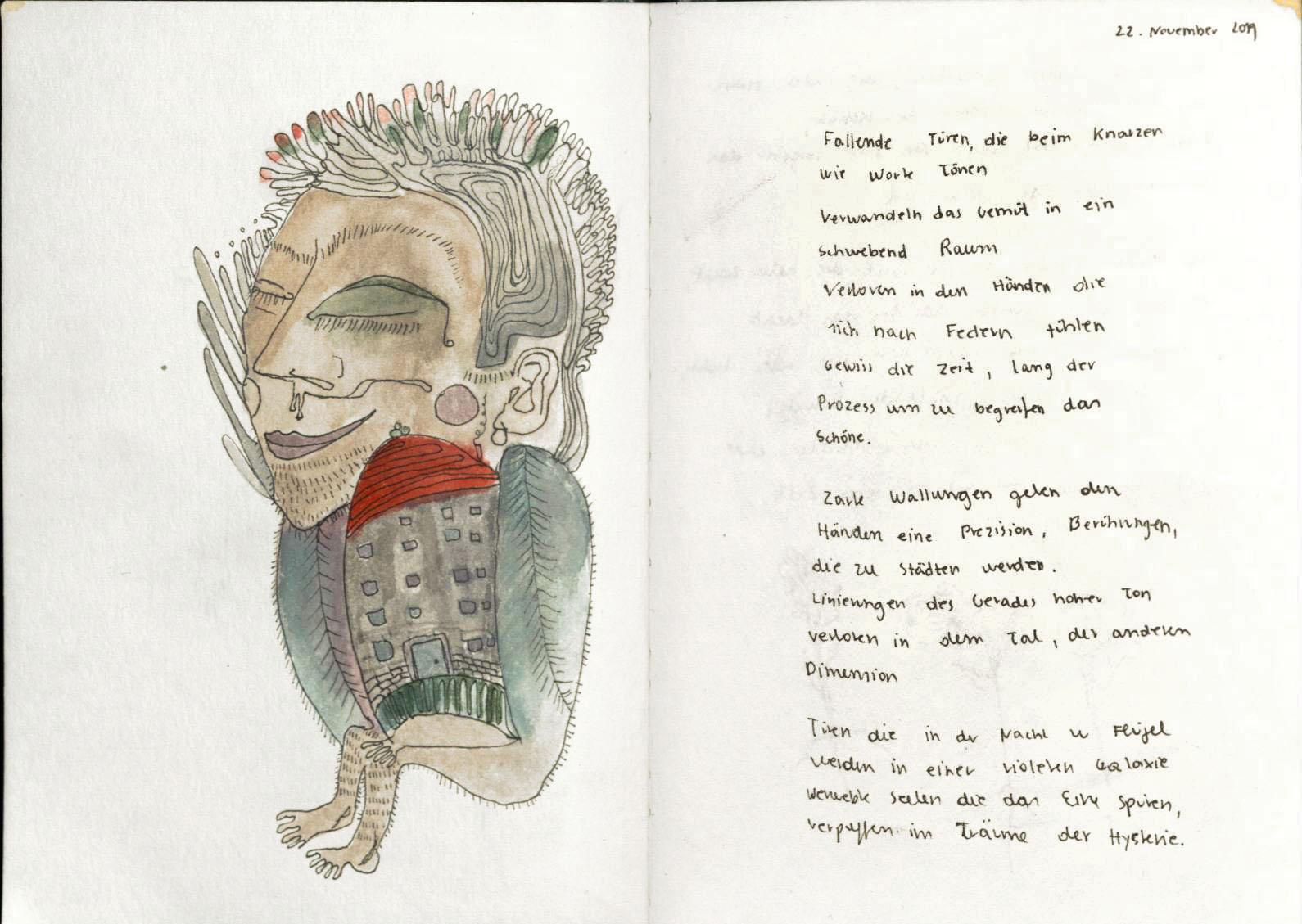 Julia Magdalene Rómas Sketchbook